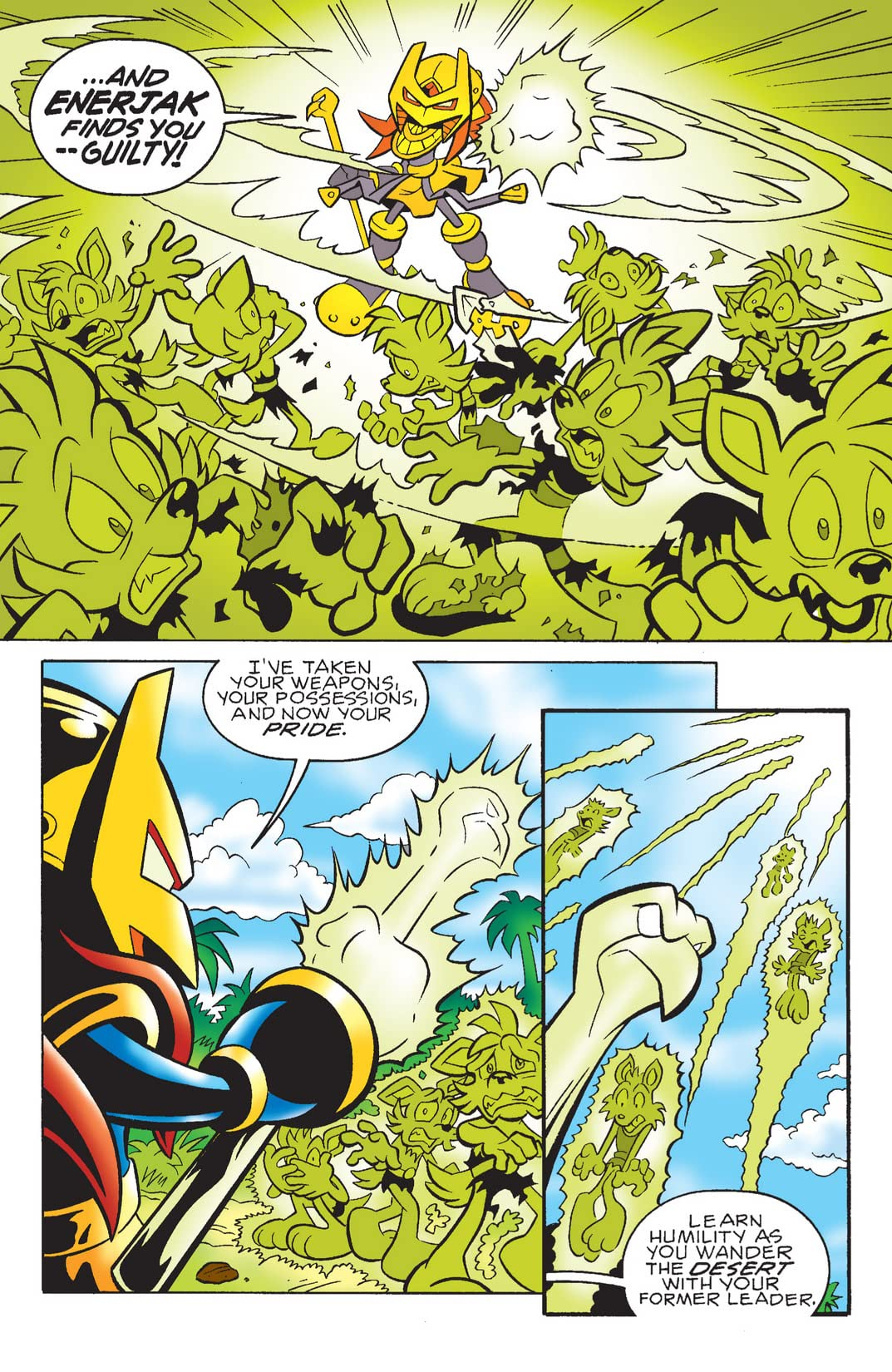 Sonic the Hedgehog #181