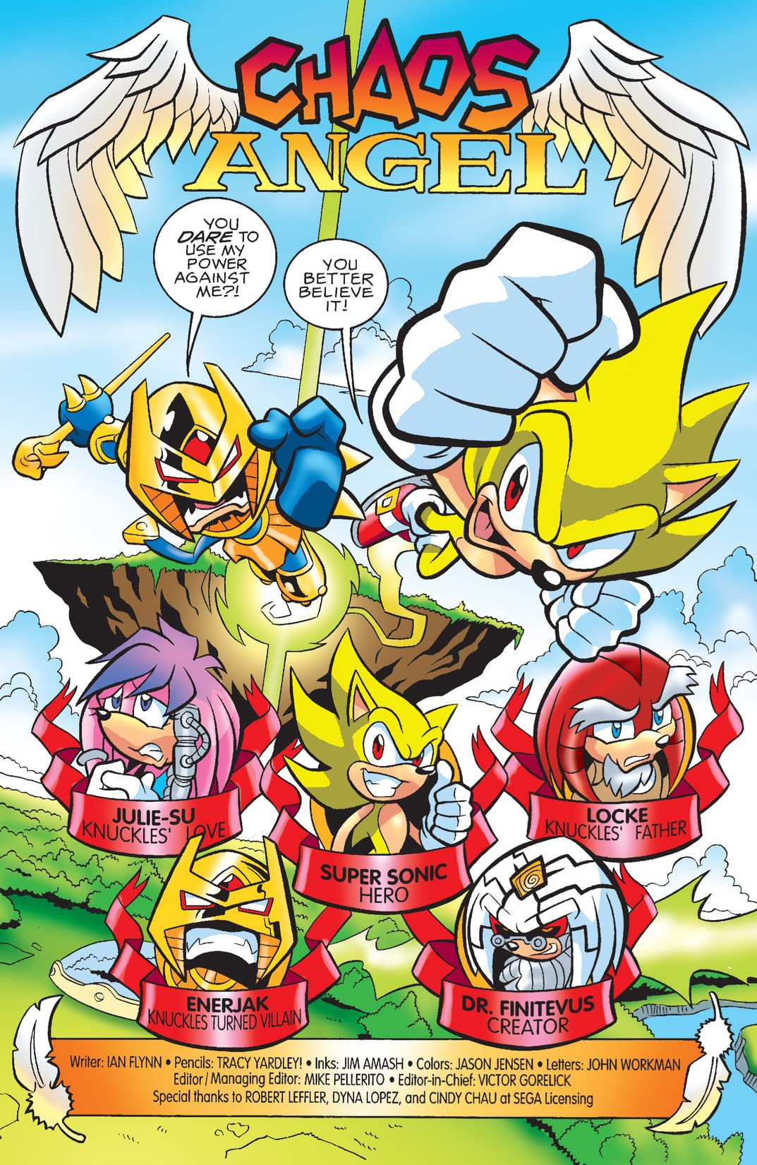 Sonic the Hedgehog #184