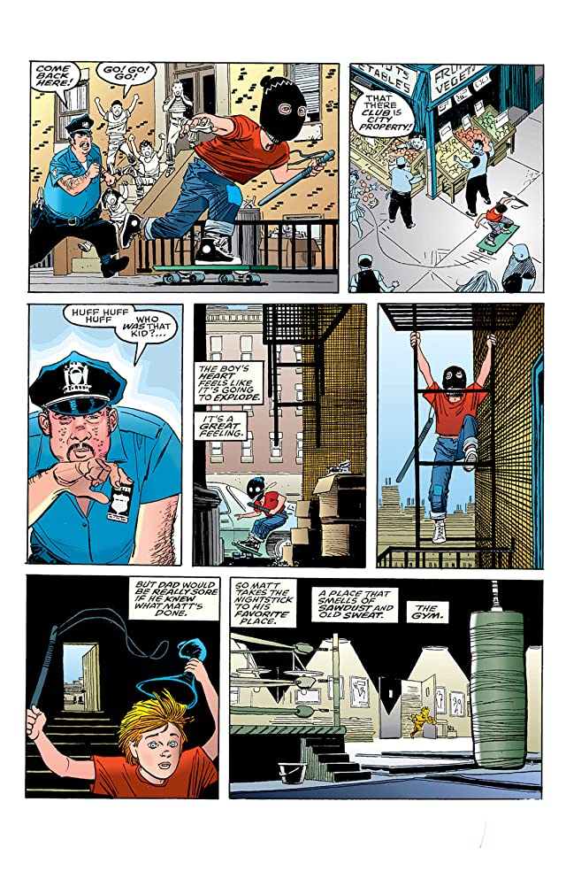click for super-sized previews of Daredevil: The Man Without Fear (1993-1994) #1