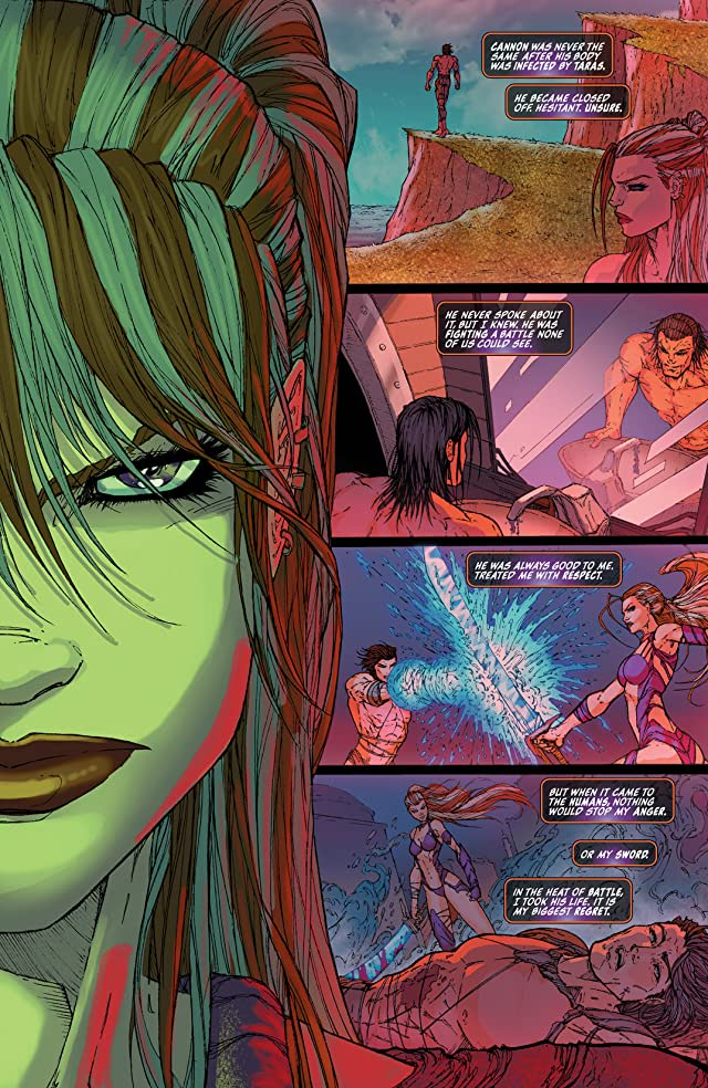 click for super-sized previews of Fathom: The Elite Saga #4