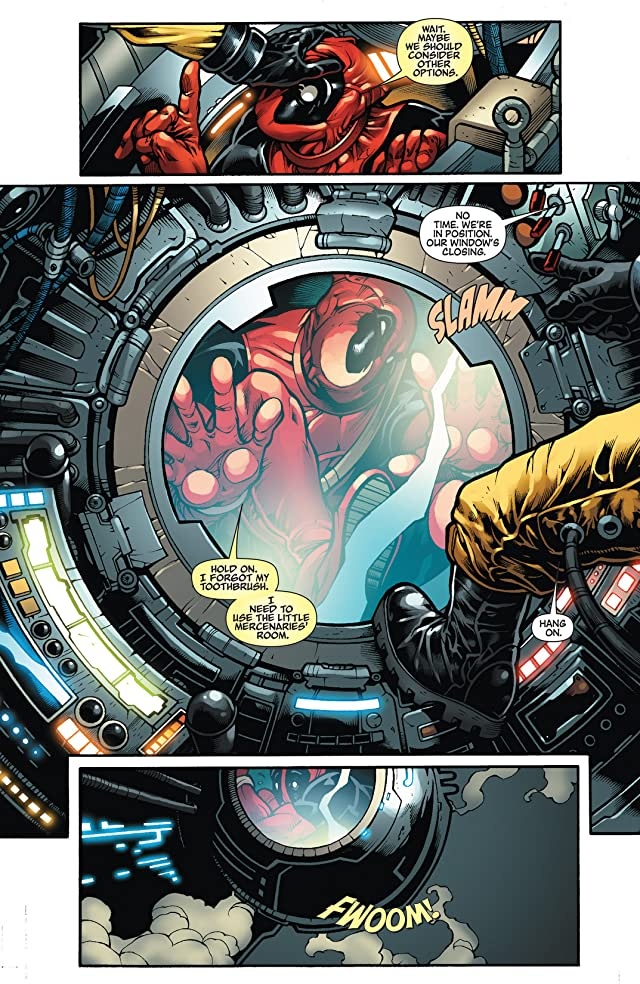 click for super-sized previews of Deadpool: Merc With A Mouth #1