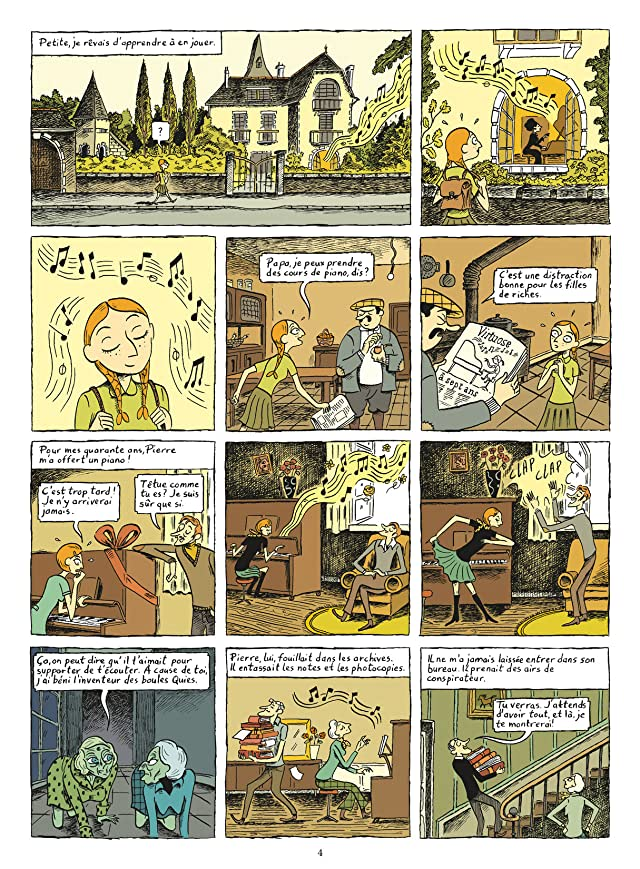 click for super-sized previews of Ma Vie Posthume Vol. 2: Anisette et Formol