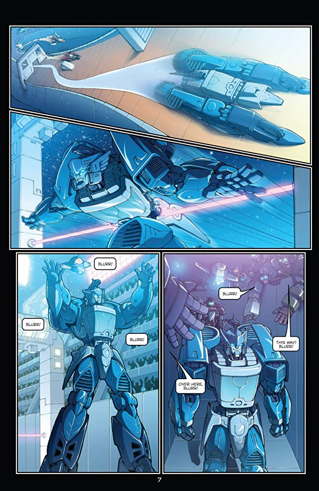 click for super-sized previews of Transformers: All Hail Megatron Vol. 3