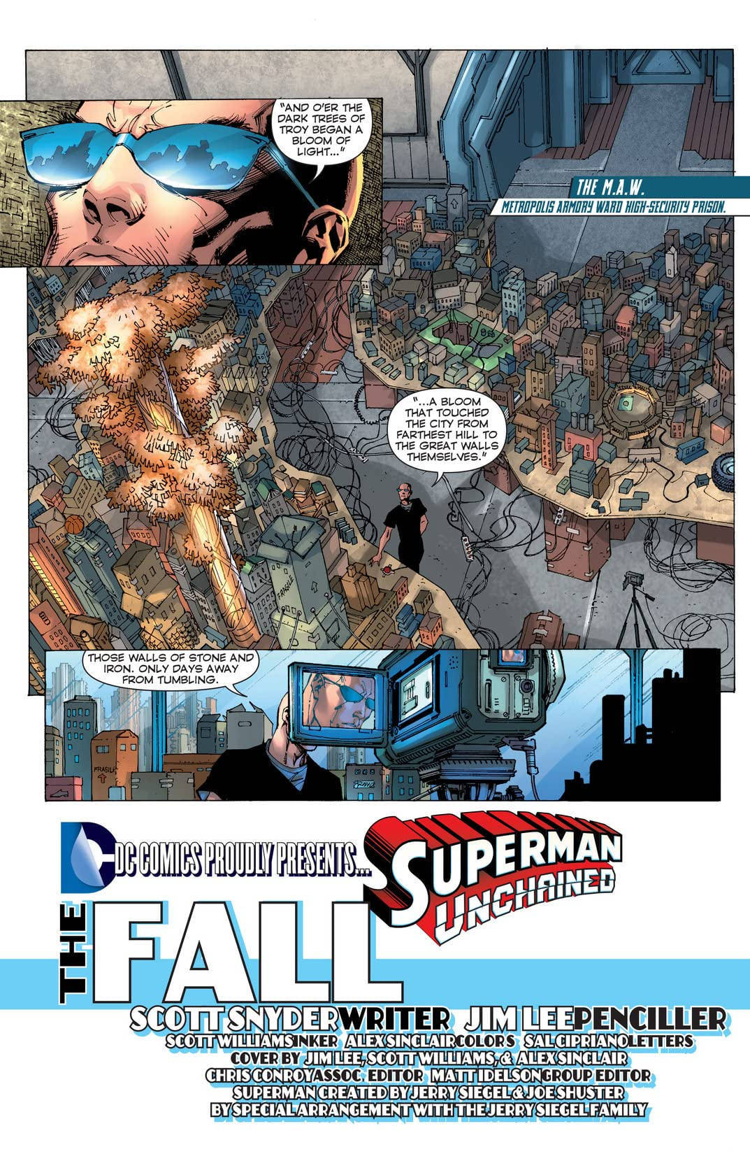 Superman Unchained (2013-2014) #2