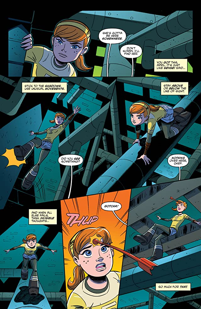 click for super-sized previews of Teenage Mutant Ninja Turtles: New Animated Adventures #1