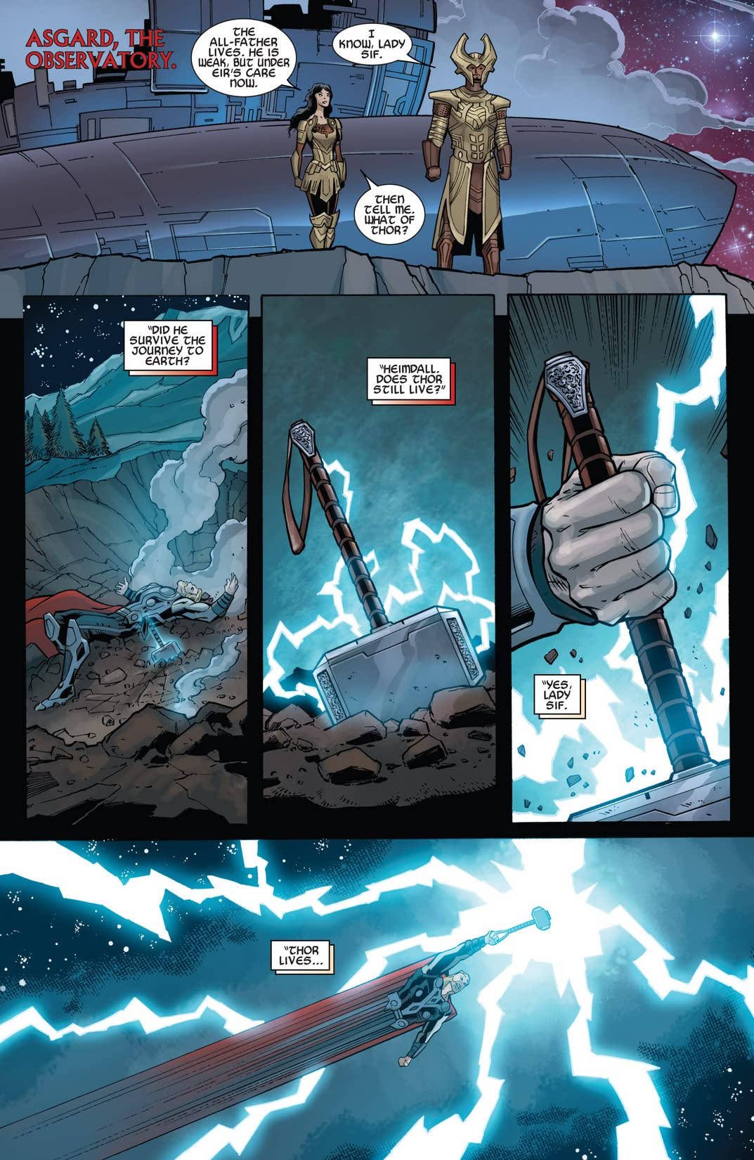 Marvel's Thor: The Dark World Prelude #2 (of 2)