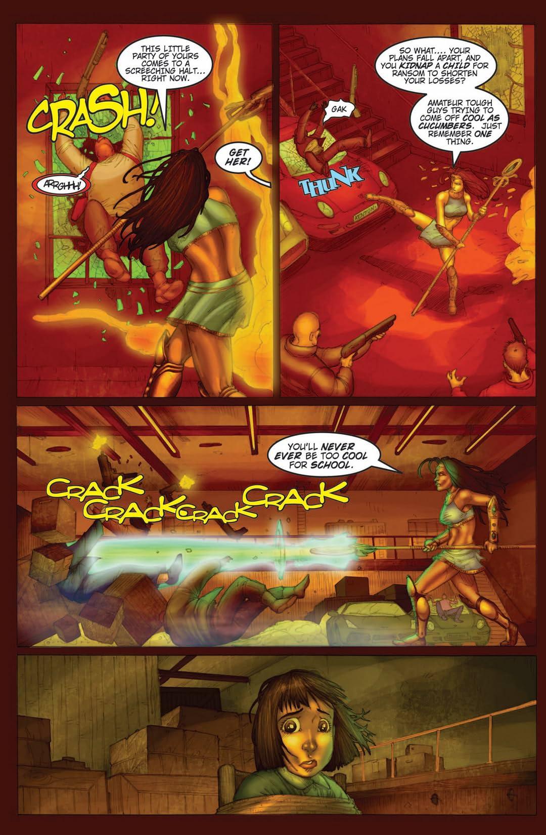 Legend of Isis Vol. 8: First Flight of Horus