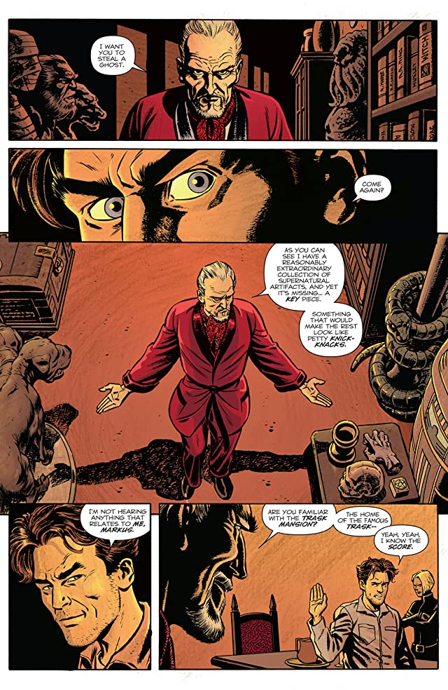 click for super-sized previews of Ghosted #1