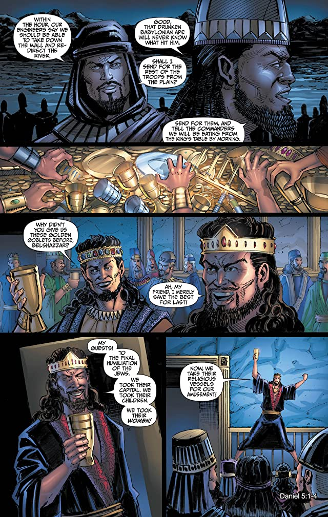 click for super-sized previews of Babylon Vol. 4: Kingdom