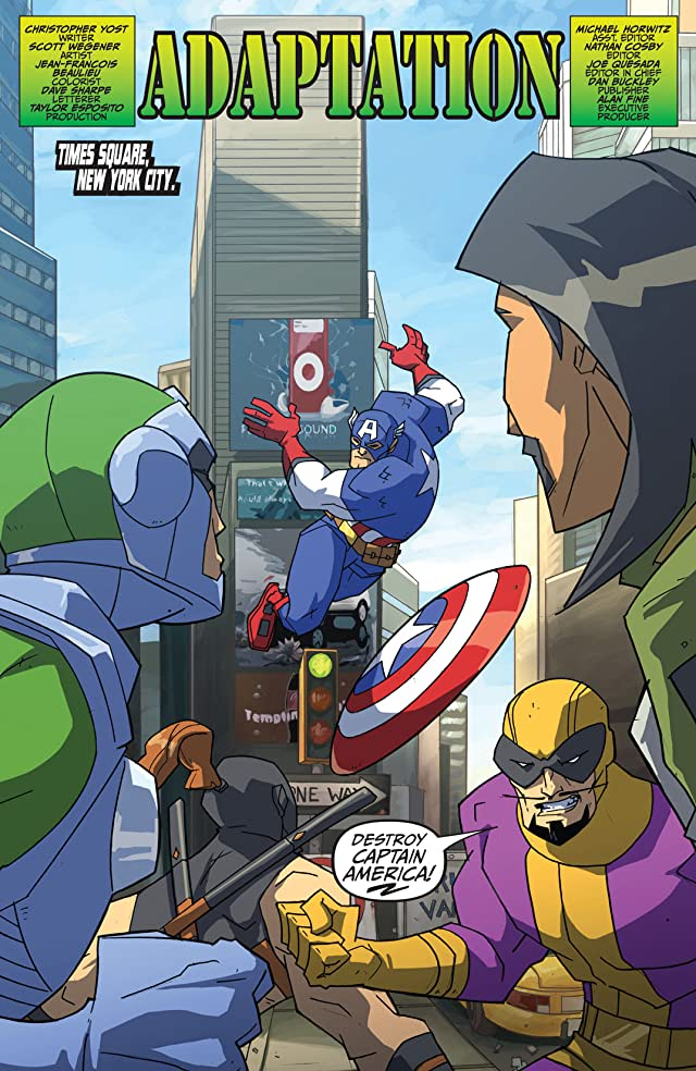 click for super-sized previews of Share Your Universe Avengers