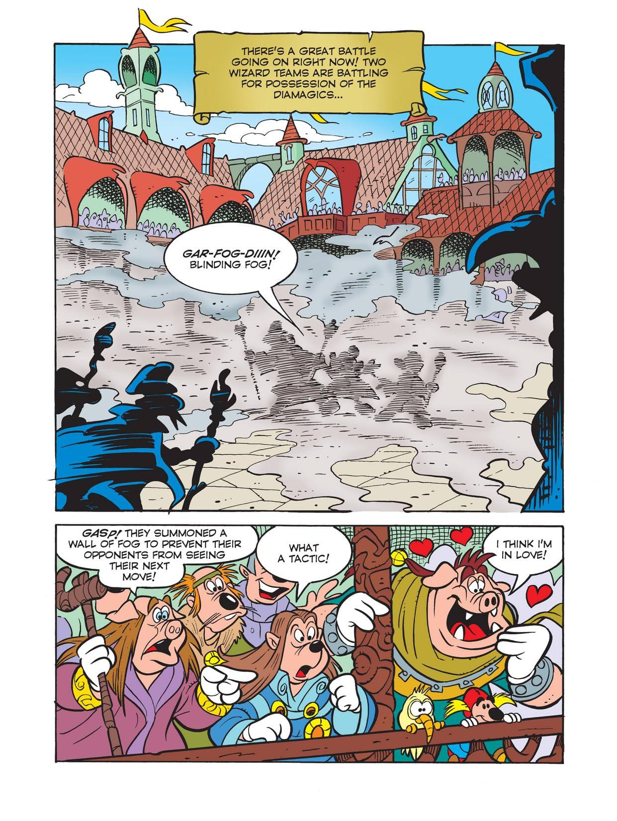 Wizards of Mickey #4: Diamond Moon