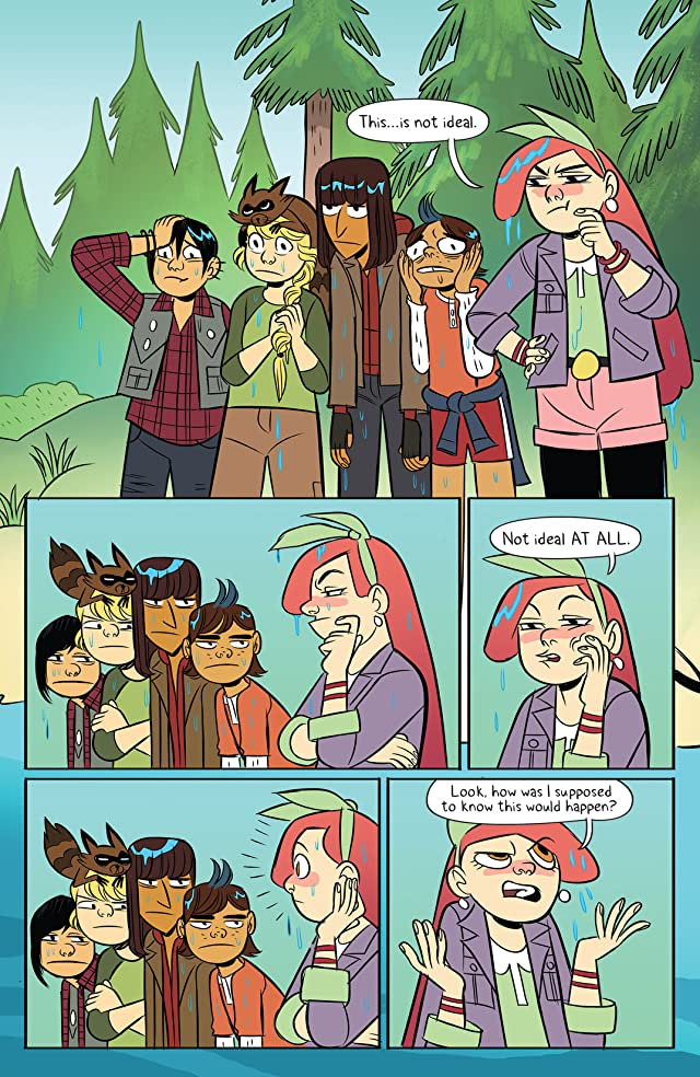 click for super-sized previews of Lumberjanes #18