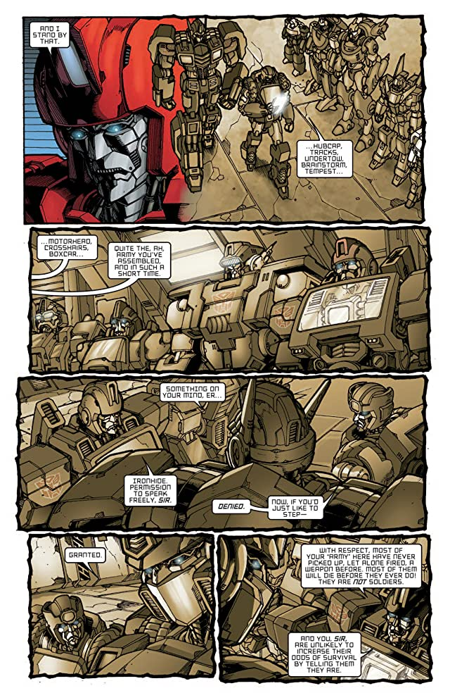 click for super-sized previews of Transformers: All Hail Megatron Vol. 4