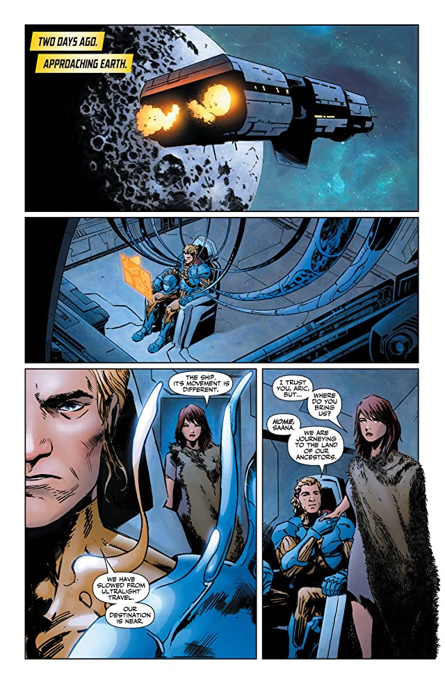 click for super-sized previews of X-O Manowar (2012- ) #15: Digital Exclusives Edition