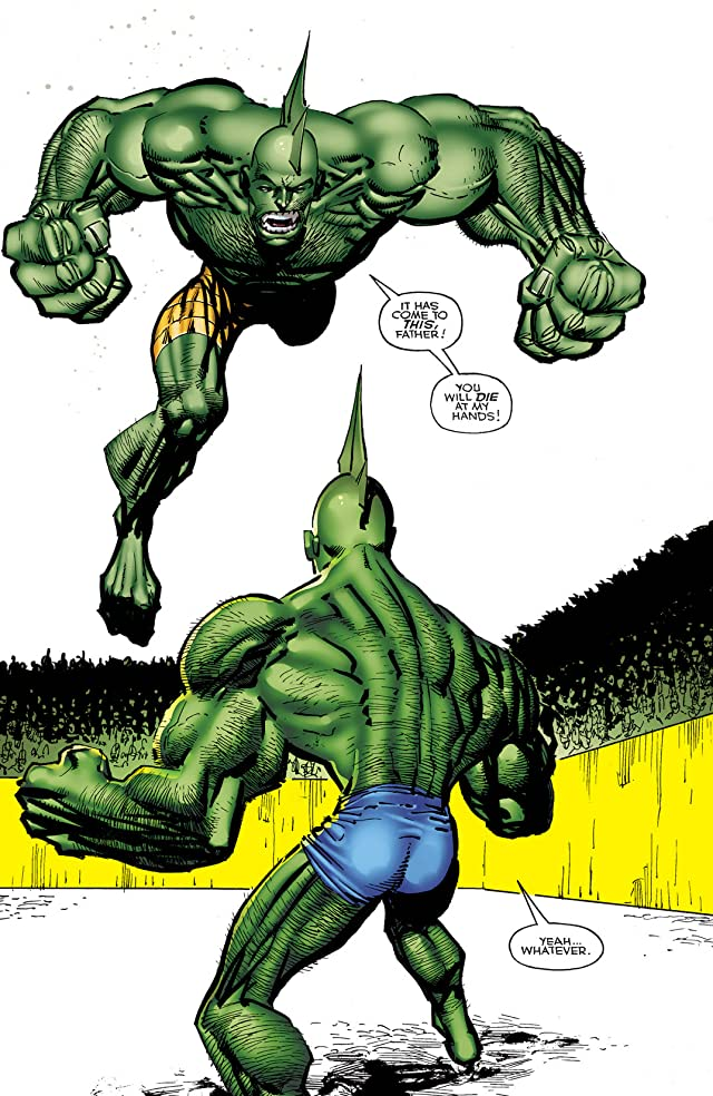 click for super-sized previews of Savage Dragon On Trial
