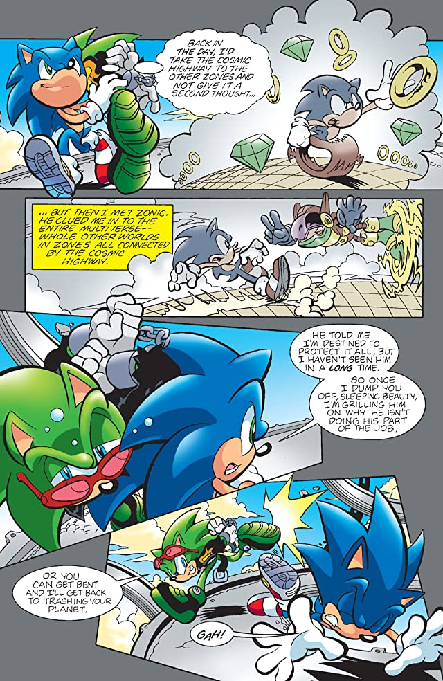 click for super-sized previews of Sonic the Hedgehog #197