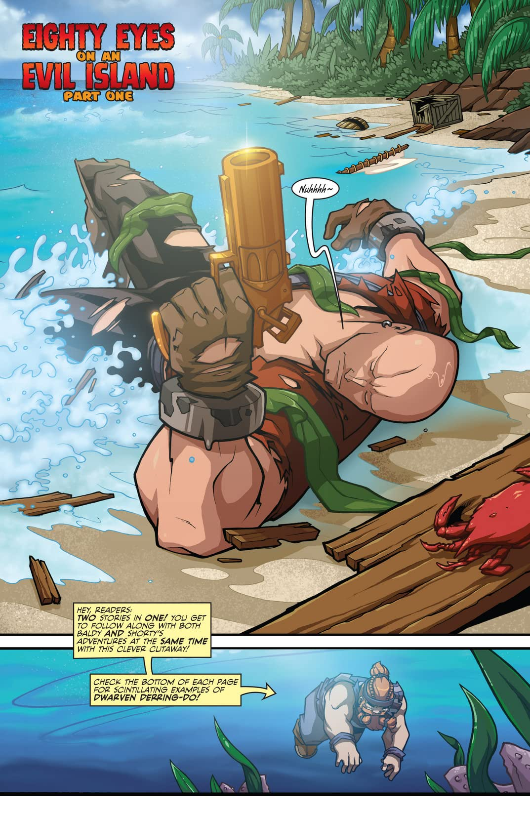 Skullkickers Vol. 4: Eighty Eyes On An Evil Island