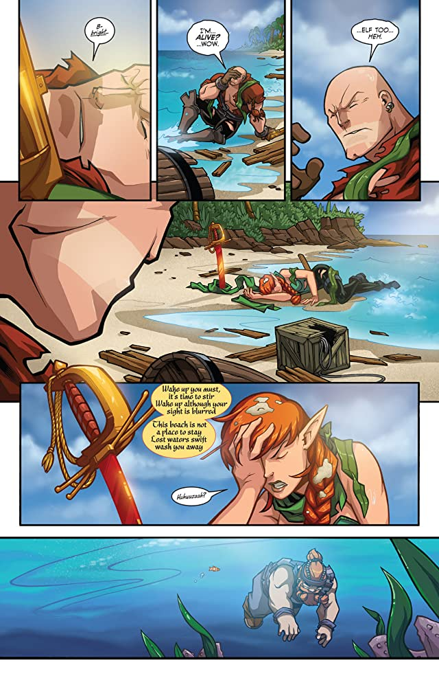 click for super-sized previews of Skullkickers Vol. 4: Eighty Eyes On An Evil Island