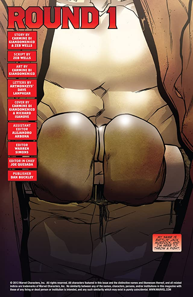 click for super-sized previews of Daredevil: Battlin' Jack Murdock #1