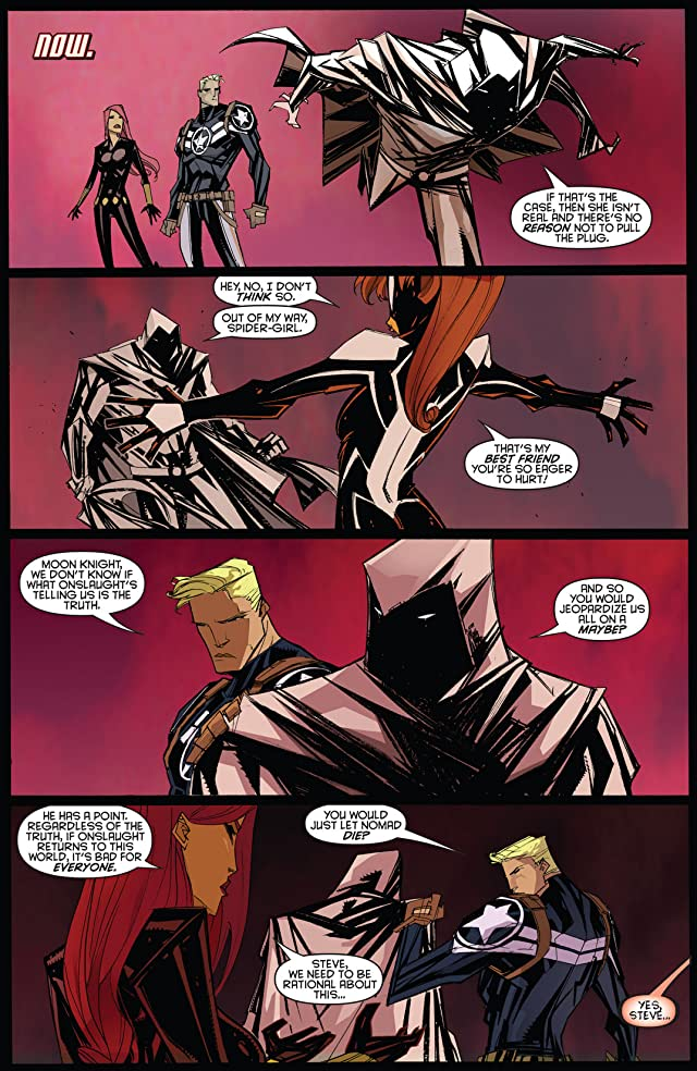 click for super-sized previews of Onslaught Unleashed #3