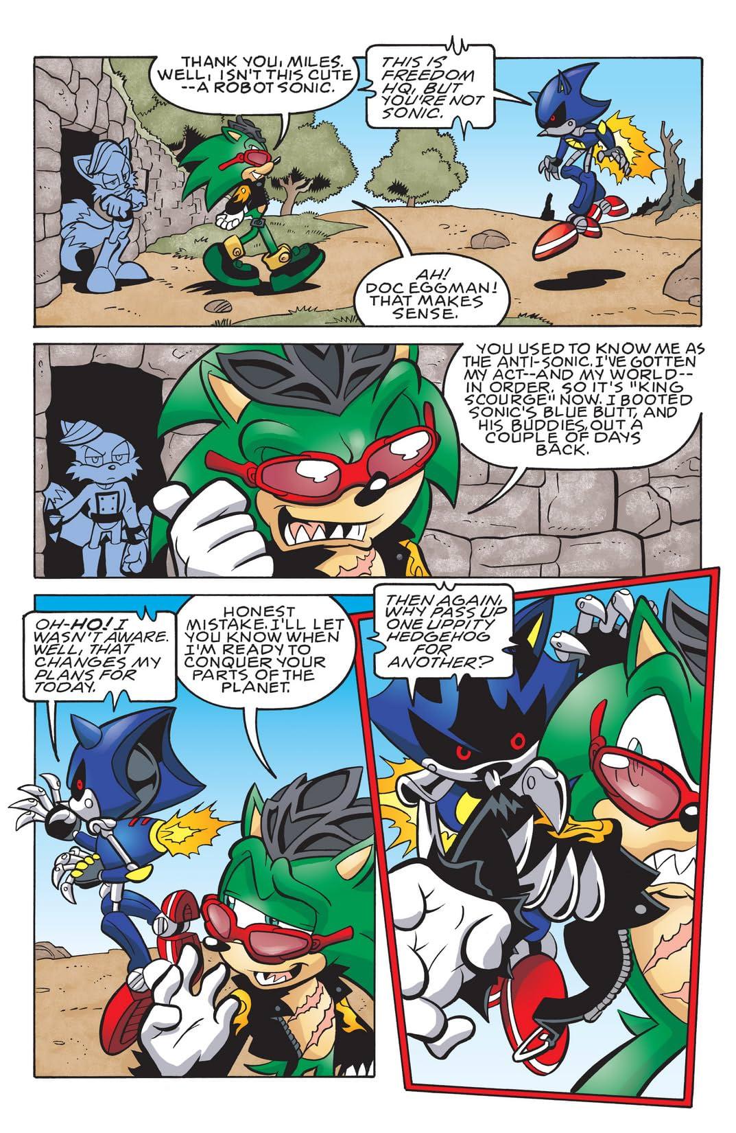 Sonic the Hedgehog #191