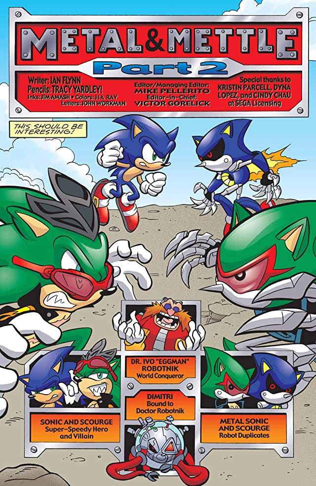 click for super-sized previews of Sonic the Hedgehog #192