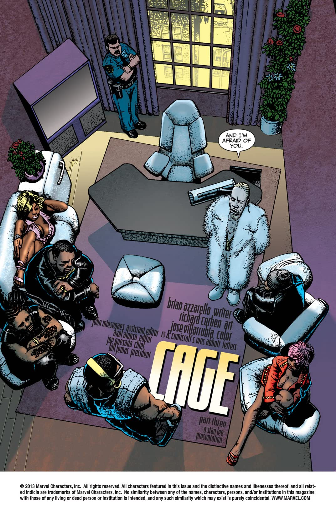 Cage (2002) #3 (of 5)