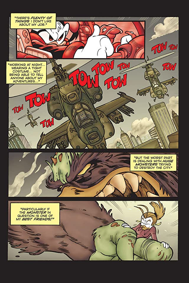 click for super-sized previews of Superduck #12: The Long Good-Bye