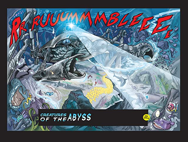 click for super-sized previews of Superduck #13: Creatures of the Abyss