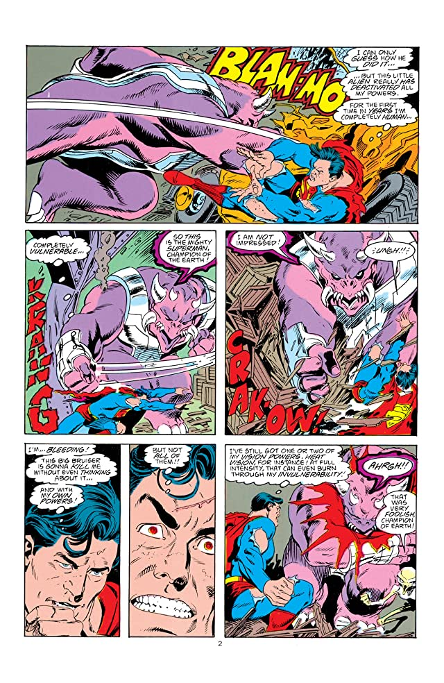 click for super-sized previews of Adventures of Superman (1986-2006) #442