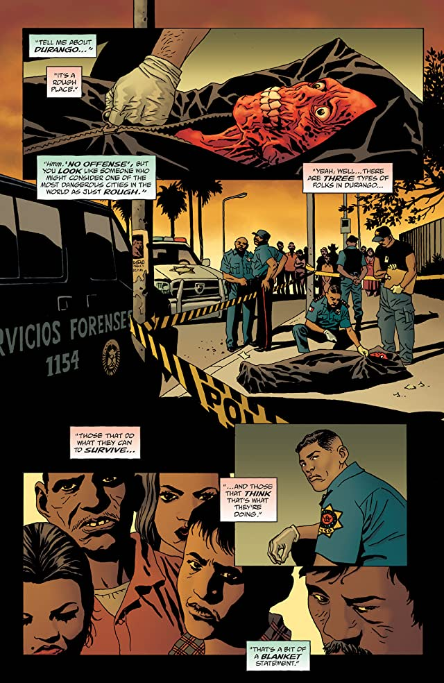 click for super-sized previews of 100 Bullets: Brother Lono #2