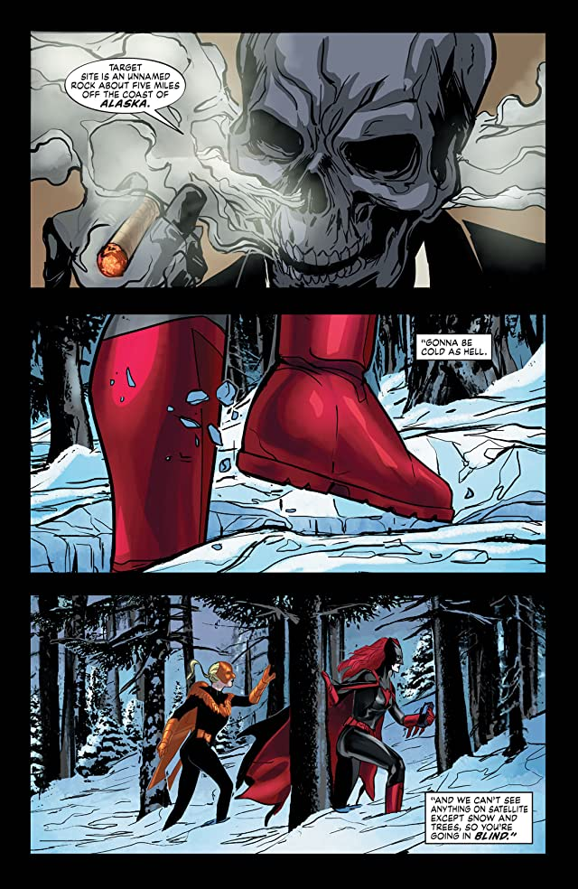 click for super-sized previews of Batwoman (2011-2015) #22
