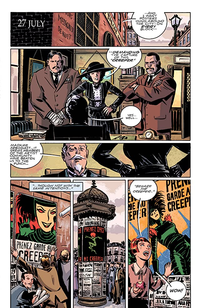 click for super-sized previews of Beware The Creeper (2003) #3