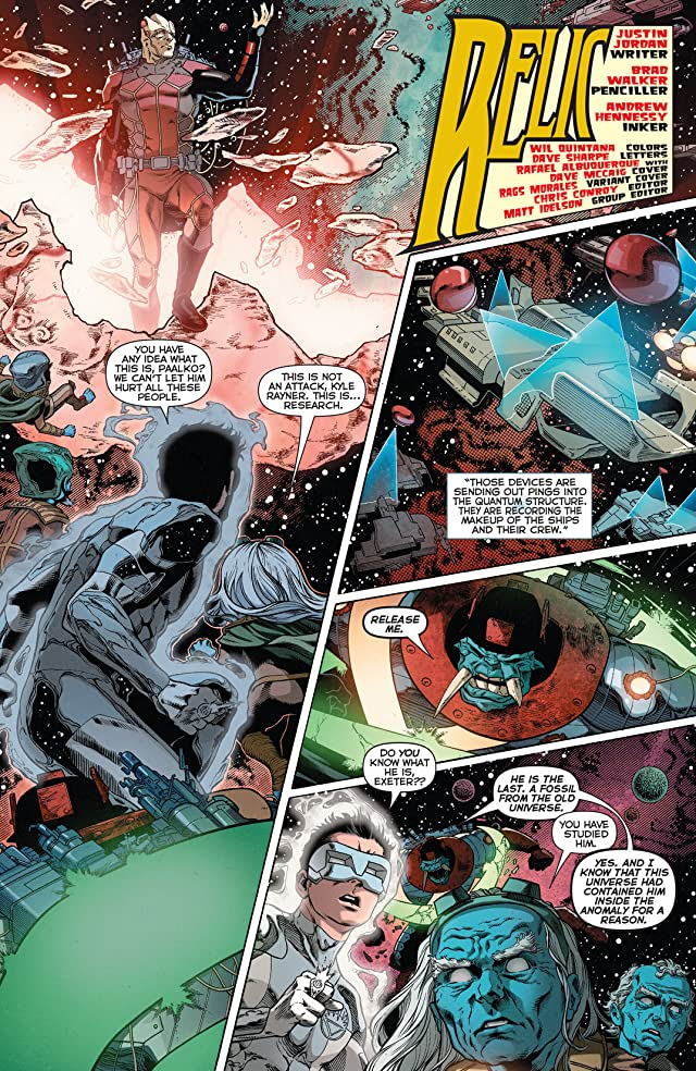 click for super-sized previews of Green Lantern: New Guardians (2011-2015) #22