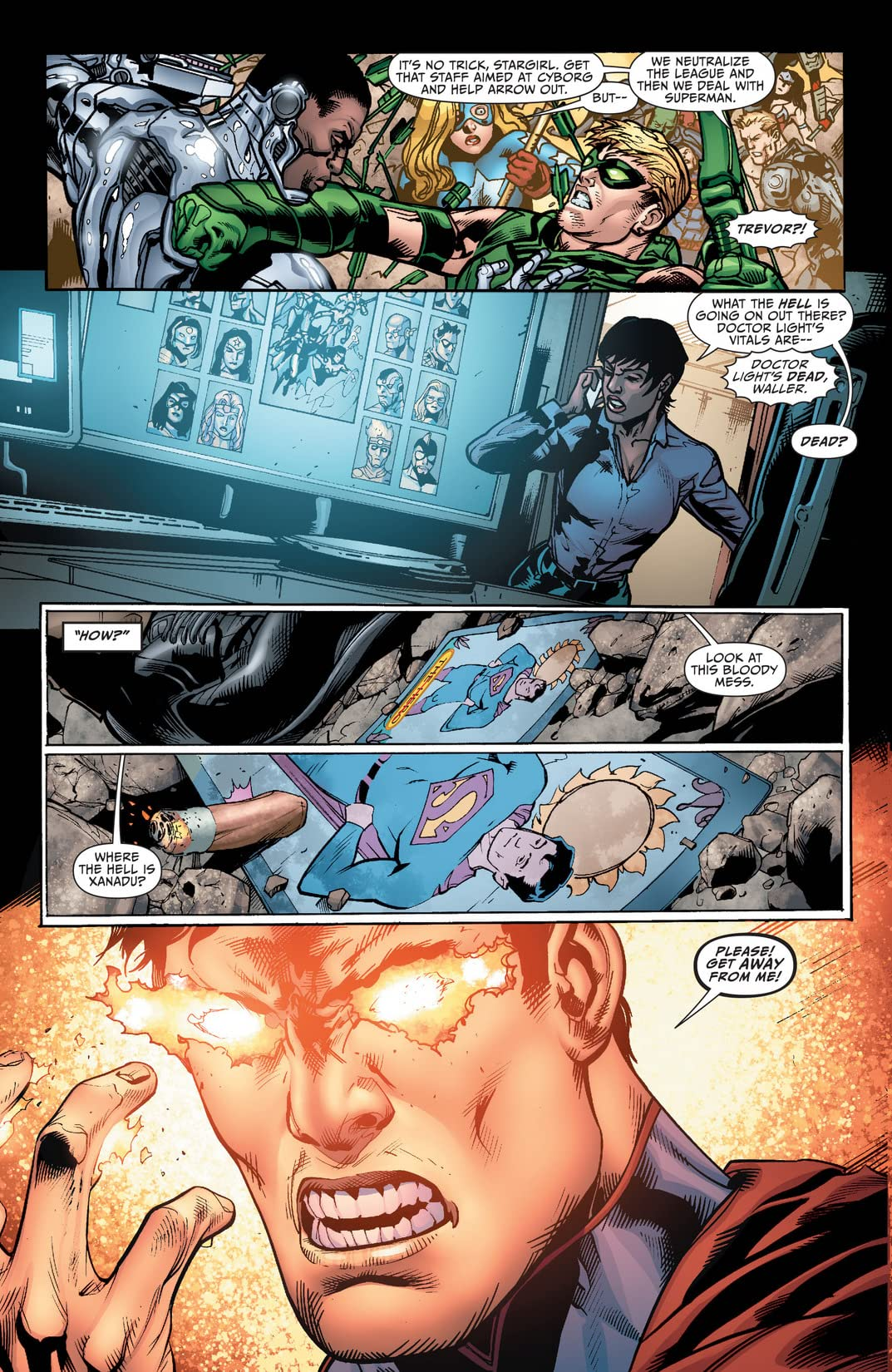 Justice League of America (2013-2015) #6