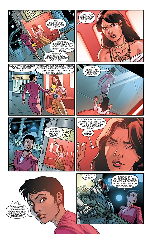 click for super-sized previews of Justice League of America's Vibe (2013) #6