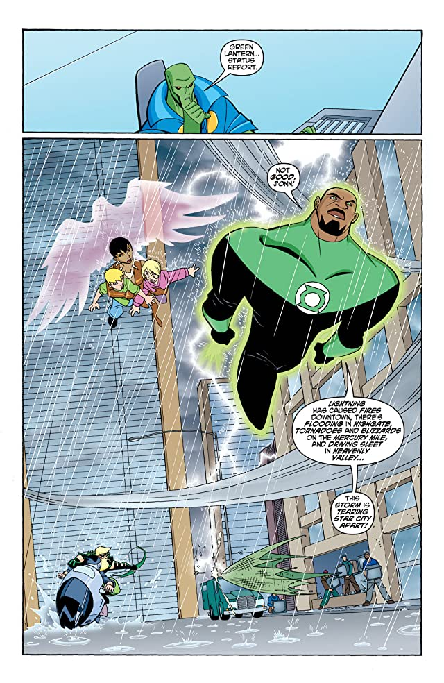 click for super-sized previews of Justice League Unlimited #21