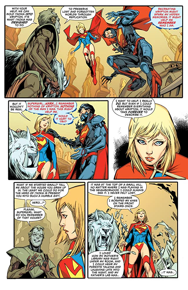 click for super-sized previews of Supergirl (2011-2015) #22