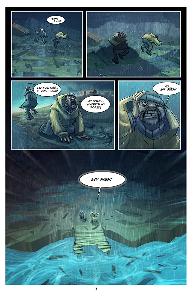 click for super-sized previews of The Deep: Here Be Dragons #1