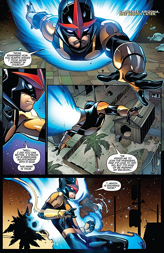 click for super-sized previews of Nova (2013-) #6