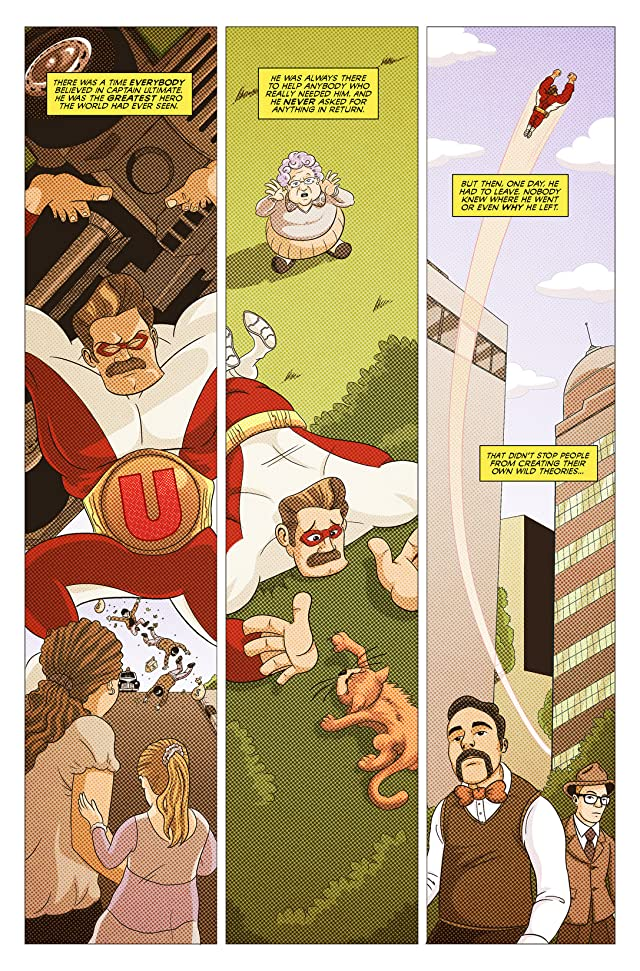 click for super-sized previews of Captain Ultimate #1