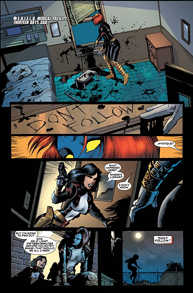 click for super-sized previews of Wolverine (2003-2009) #35