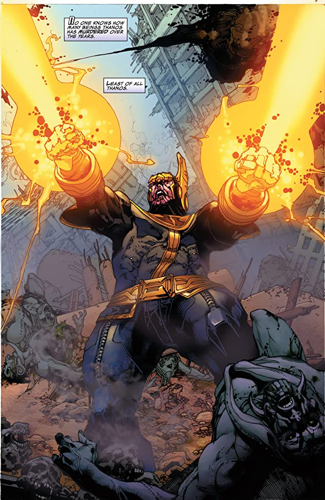 click for super-sized previews of Thanos Rising #4