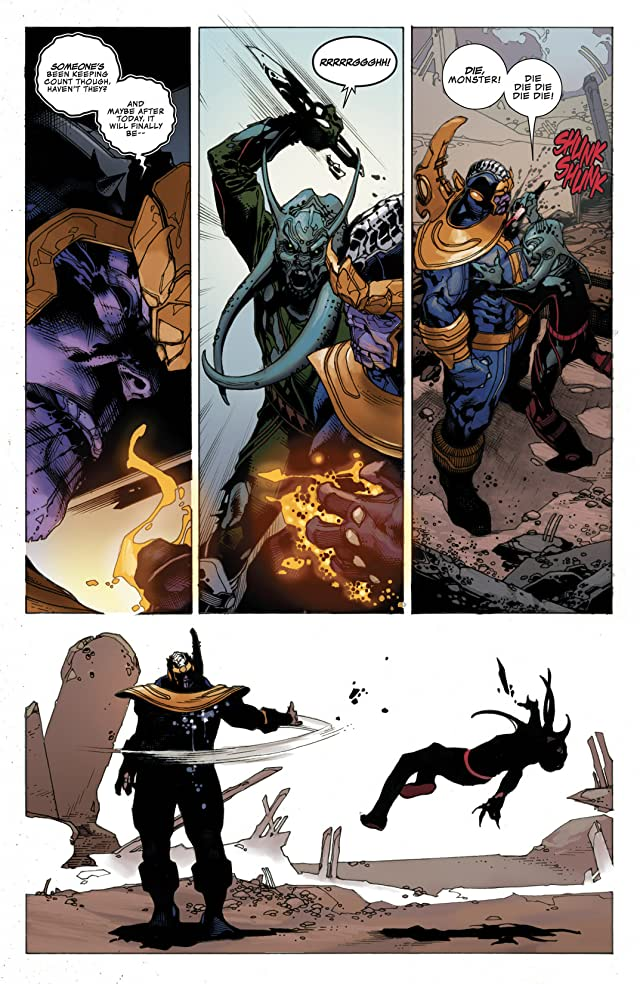click for super-sized previews of Thanos Rising #4 (of 5)
