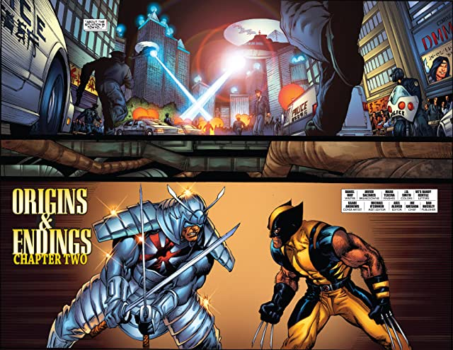 click for super-sized previews of Wolverine (2003-2009) #37