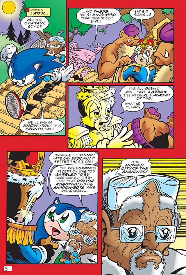 click for super-sized previews of Sonic the Hedgehog Archives Vol. 21