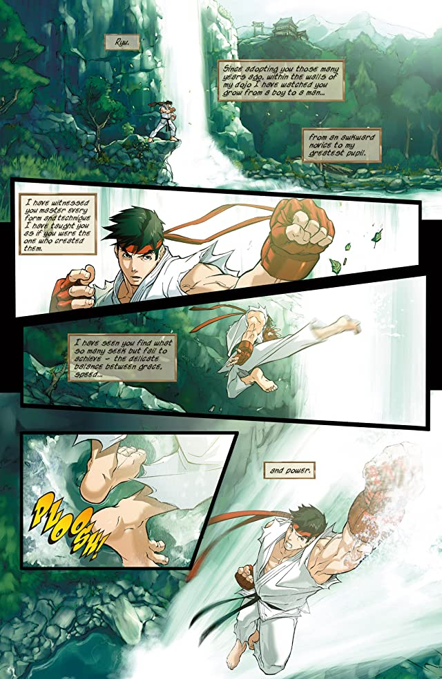 click for super-sized previews of Street Fighter #0