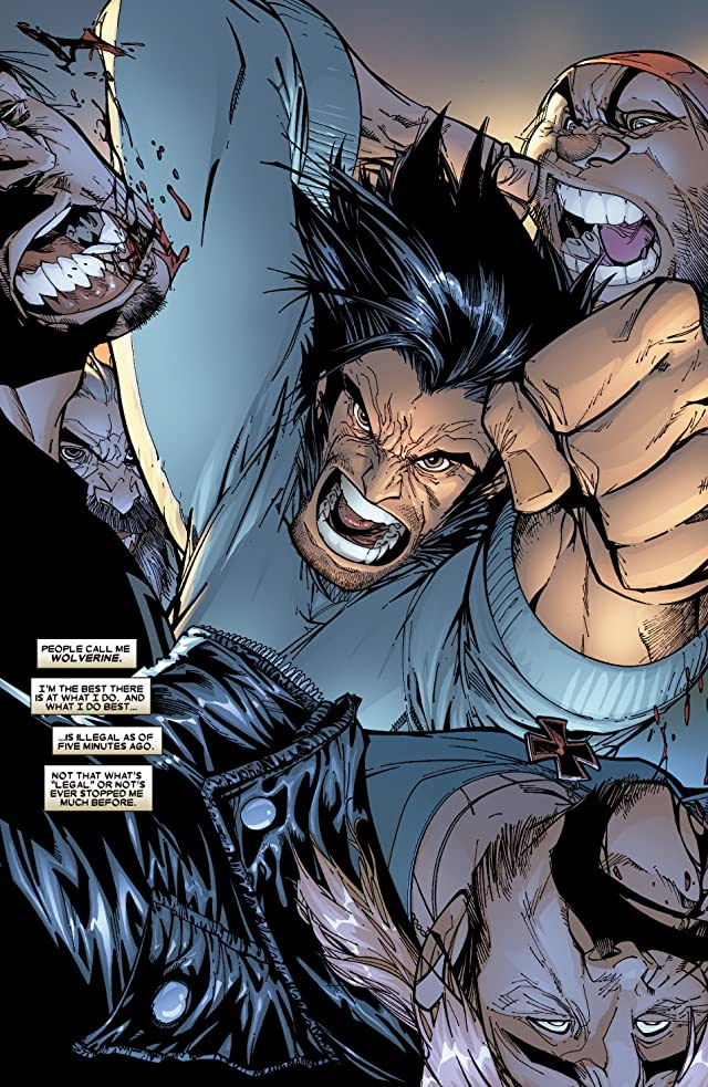 click for super-sized previews of Wolverine (2003-2009) #43