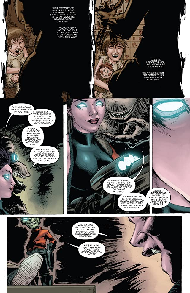 click for super-sized previews of Non Humans #4