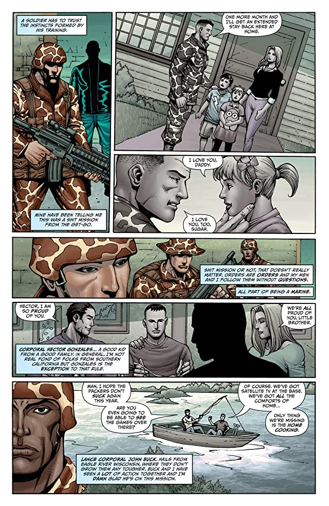 click for super-sized previews of Grimm Fairy Tales: Wounded Warriors Special